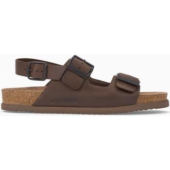 Chaussures Femme Sandales et Nu-pieds Mephisto Sandale cuir NARDO Marron