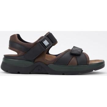 Chaussures Femme Sandales sport Mephisto Sandale SHARK FIT Noir Marron