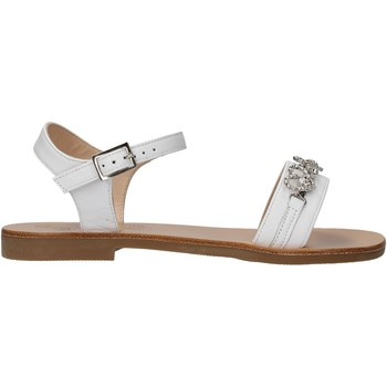 Chaussures Fille Sandales et Nu-pieds Moda Positano - Sandalo bianco B3/19 BIANCO
