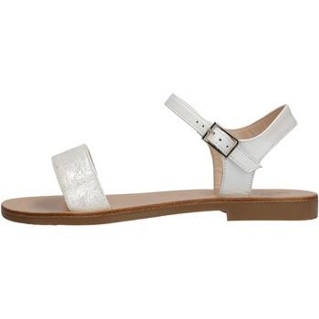 Chaussures Fille Sandales et Nu-pieds Moda Positano - Sandalo perlato  bianco B4/19 BIANCO