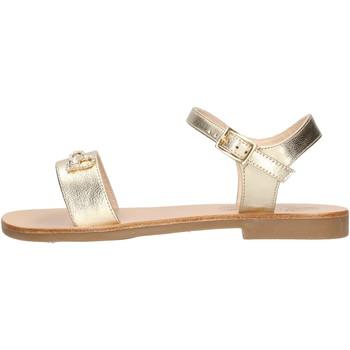 Chaussures Fille Sandales et Nu-pieds Moda Positano - Sandalo platino B4/19 PLATINO