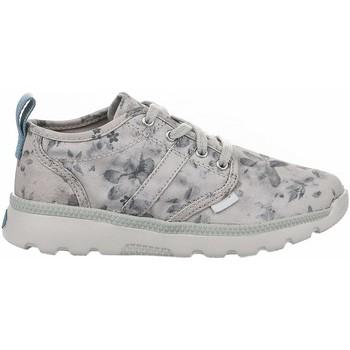 Chaussures Fille Baskets montantes Palladium PLVIL LO K Gris