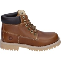 Chaussures Garçon Boots Melania bottines cuir marron