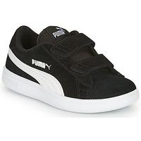 Chaussures Enfant Baskets basses Puma SMASH Noir
