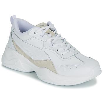 Chaussures Femme Baskets basses Puma WNS CILIA LUX B Blanc