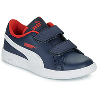 Chaussures Garçon Baskets basses Puma SMASH PS Marine