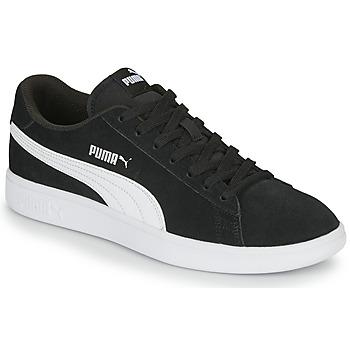 Chaussures Homme Baskets basses Puma SMASH Noir