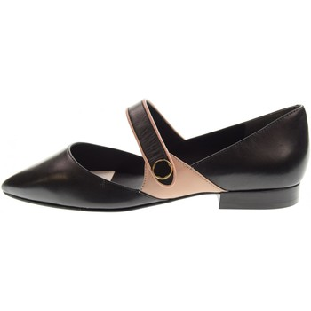 Chaussures Femme Ballerines / babies What For  Nero / Rosa