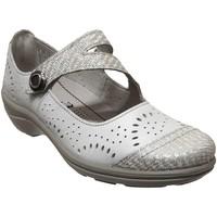 Chaussures Femme Ballerines / babies Romika Westland Cassie 55 Ecru cuir