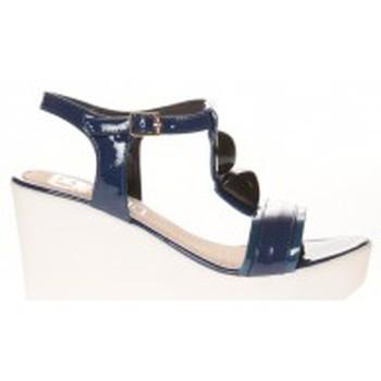 Chaussures Femme Sandales et Nu-pieds Cassis Côte D'azur Sandales Orso Bleu marine Bleu