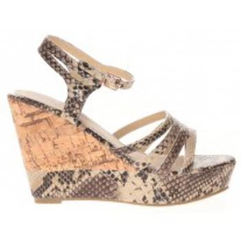 Chaussures Femme Sandales et Nu-pieds Cassis Côte d'Azur Sandales Manakine Beige Beige