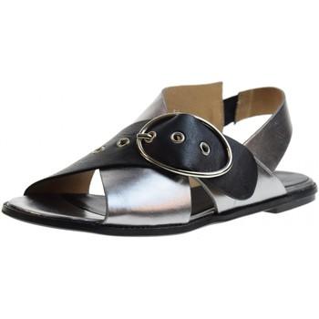 Chaussures Femme Sandales et Nu-pieds Poesie Veneziane  Acciaio / Nero
