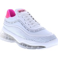 Chaussures Femme Tennis Bronx Basket Femme Bubbly 66260-JH736 Fluo Blanc