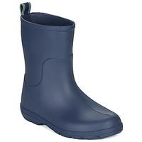 Chaussures Enfant Bottes de pluie Isotoner 99219 Marine