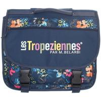 Sacs Enfant Cartables Les Tropéziennes par M Belarbi Cartable Les Tropeziennes ref_trop43783 Bleu 38*30*14 Bleu