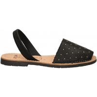 Chaussures Femme Sandales et Nu-pieds Ria VELVET BLANCO negro