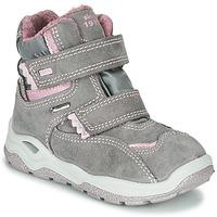 Chaussures Fille Boots Primigi WICK GORE-TEX Gris / Rose