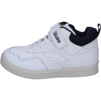 Chaussures Garçon Baskets montantes Blaike sneakers cuir synthétique blanc