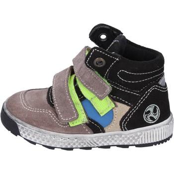 Chaussures Garçon Boots Mkids sneakers daim beige
