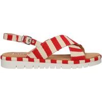Chaussures Femme Sandales et Nu-pieds MTNG 51093 Rojo