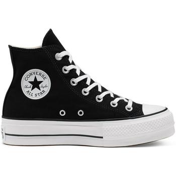 Chaussures Femme Baskets montantes Converse Chuck taylor all star lift hi Noir