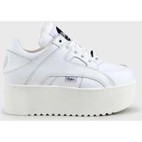 Chaussures Femme Baskets montantes Buffalo 1330-6 blanc