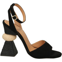 Chaussures Femme Sandales et Nu-pieds Paloma Barcelò KID SUEDE blk-nero