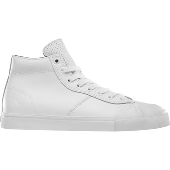 Chaussures Homme Chaussures de Skate Emerica Indicator High White/print