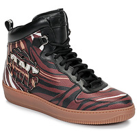 Chaussures Homme Baskets montantes Roberto Cavalli 8343 Multicolore