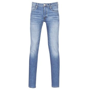Vêtements Homme Jeans slim Jack & Jones JJIGLENN Bleu clair