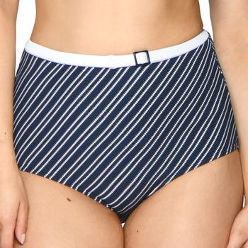Vêtements Femme Maillots de bain séparables Curvy Kate Bas de maillot de bain nautique taille haute Sailor girl navy Bleu