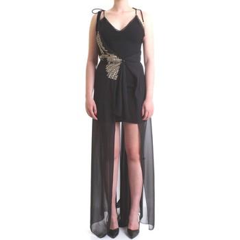 Vêtements Femme Robes longues Patrizia Pepe 2A1949 A4XW Noir
