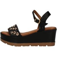 Chaussures Femme Sandales et Nu-pieds Donna Style 19-5008-P NOIR