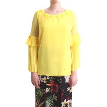 Vêtements Femme Tops / Blouses Camilla Milano C1160/T02 jaune