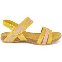 Chaussures Femme Sandales et Nu-pieds Interbios 5656 MOSTAZA-SALMON Sandalias