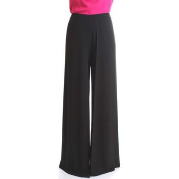 Vêtements Femme Pantalons fluides / Sarouels Camilla Milano P1121/T978 Noir