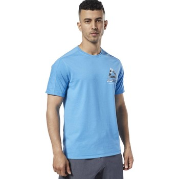 Vêtements Homme T-shirts manches courtes Reebok Sport T-shirt de training One Series Speedwick bleu