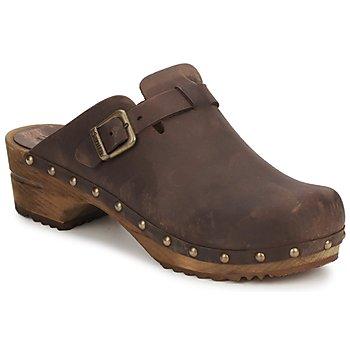 Chaussures Femme Sabots Sanita KRISTEL OPEN Marron