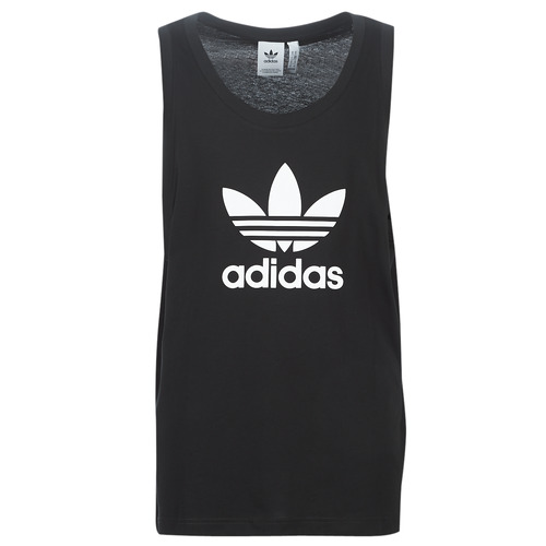 Tank Manche Trefoil shirts Originals Adidas Homme Noir DébardeursT Sans dhCtQsr