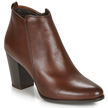 Chaussures Femme Bottines André MAGDA Marron