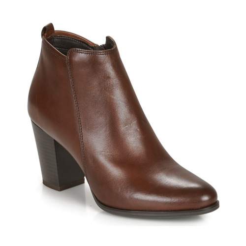 Chaussures Femme Boots André MAGDA Marron