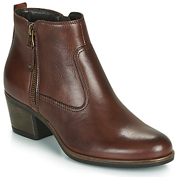 Chaussures Femme Bottines André MADRID Marron