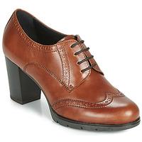 Chaussures Femme Derbies André MAESTRO Cognac