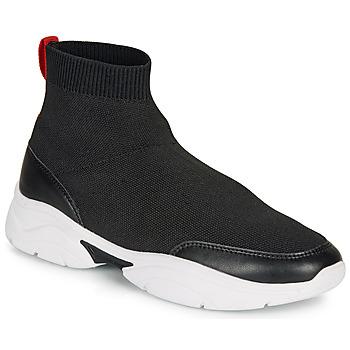 Chaussures Femme Baskets montantes André BELLA Noir