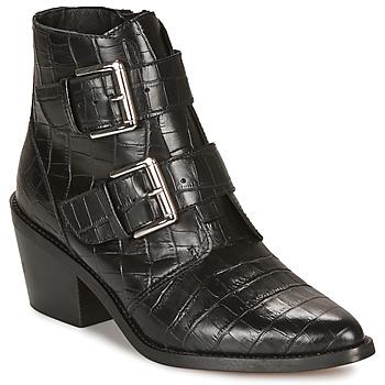 Chaussures Femme Bottines André NAPOLITA Noir