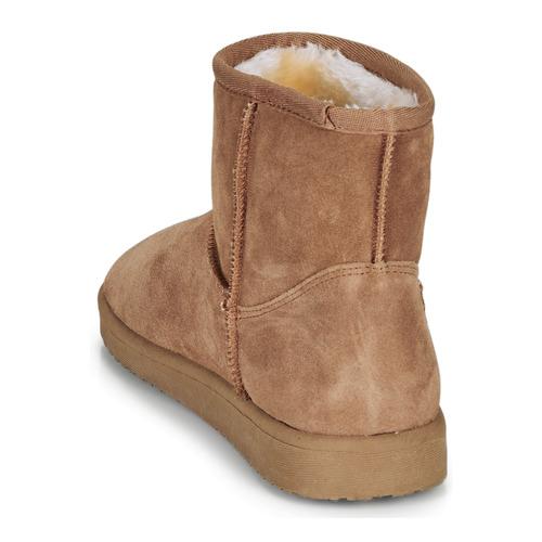 André Tousnow Camel - Livraison Gratuite- Chaussures Boot Femme 4399 fj5LG