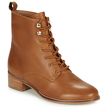 Chaussures Femme Boots André ELOGE Camel