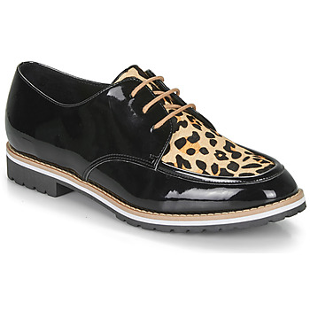 Chaussures Femme Derbies André CHARLELIE LEOPARD