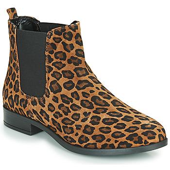 Chaussures Femme Boots André ELEGANTE LEOPARD