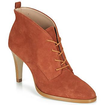 Chaussures Femme Bottines André LITCHI Orange